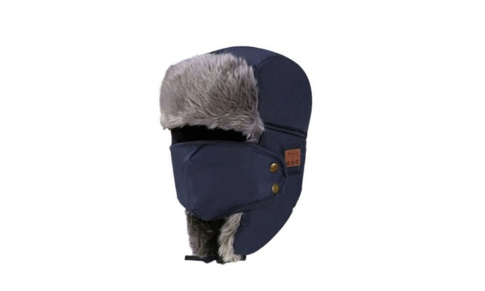 c44dbda6e9516 Bluetooth Winter Trapper Hat
