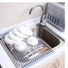 Roll-up Dish Rack Multipurpose Larger Drying Dishes Rack