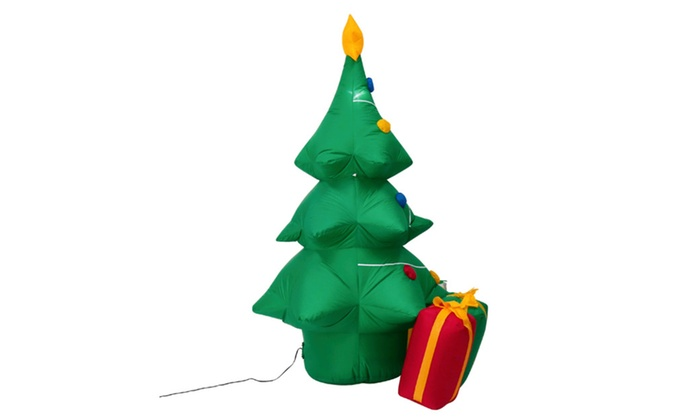 5 Inflatable Christmas Tree Yard Decoration Air Blown Outdoor Indoor
