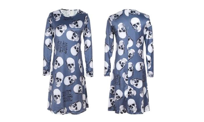 Halloween Ideas Print Dress