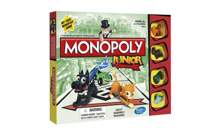 Monopoly Junior Board Game acf2e4e8-8183-4c6d-bd96-8fdaa0c232a3