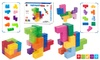 Zummy Magnetic Building Blocks Puzzle Cube Educational 9pcs w/ 156 Chalnges