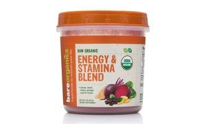 BareOrganics Energy and Stamina Blend Powder (8 Oz.)