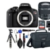 Canon Rebel T6i 24.2MP 1080p Lens Bundle