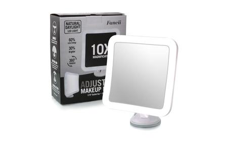 Fancii 10X Magnifying Lighted Makeup Mirror - Daylight LED 87f4d1de-0087-4515-98d4-66aacf16b1f1