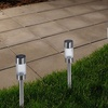 Solar Powered Lights (Set of 6)- LED Outdoor Stake Spotlight by Pure Garden