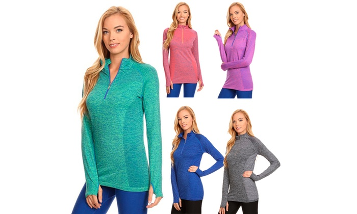 Seamless Pull Over Active Top