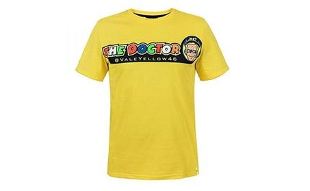 Valentino Rossi VR46 Moto GP The Doctor Yellow T-shirt 504cda5b-af9c-4cc5-9232-2c5cb7d3d9b7