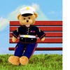 "American Hero Marine Bear - ""From the Halls of Montezuma'"