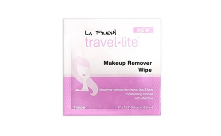 La Fresh Makeup Remover Cleansing Travel Wipes - Natural Pack of 200 7ca7204f-6f9a-4a48-aa6c-0bf42a23e7ac