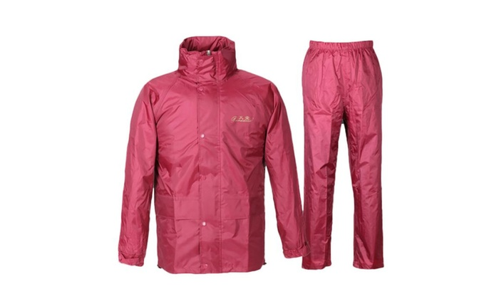 Long 2 Piece Rain Suit