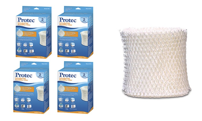 High Quality 4 - Pack  Replacement Extended Life Humidifier Filter