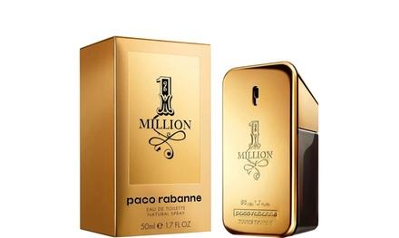 Paco Rabanne 1 Million 1.7 / 3.4 / 6.8 OZ EDT For Men