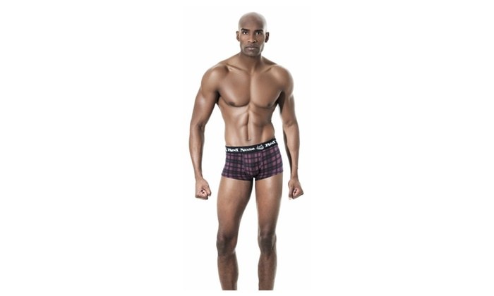 Lupo Men's Red Nose Stretch Cotton Sunga Trunk Underwear