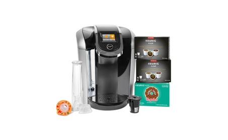 Keurig 2.0 K425S Coffee Maker Brewer & 24 K-Cups w/ My K-cup Reusable 2d91b837-b148-4928-aac1-2351cabbd256