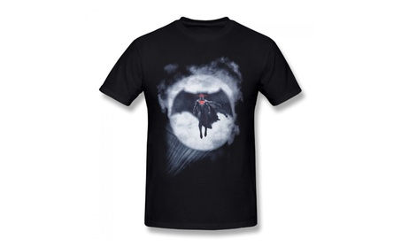 Dc Comics Batman V Superman Black T-shirt For Men 559b4ca4-7372-4a4e-bf3c-7dab3f3b3167