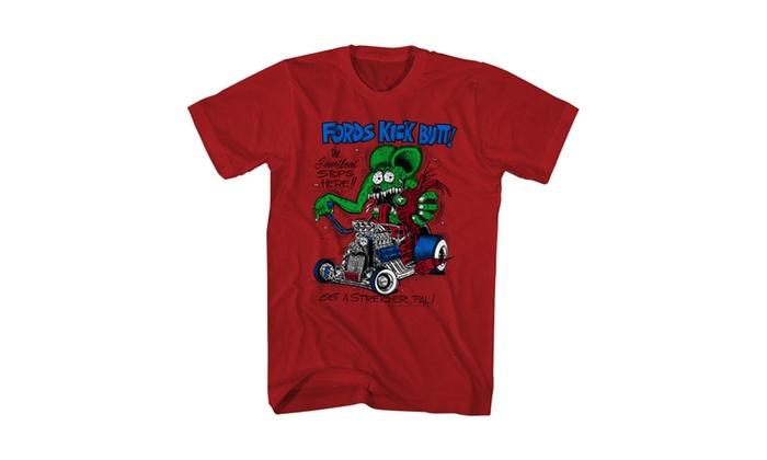 Tee Bangers LLC: Rat Fink Men's Red T-shirt NEW Sizes S-2XL
