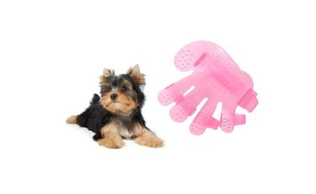 Pet Puppy Cat Rabbit Grooming Brush Finger Massage Glove f37c8161-e26c-422a-889c-fa7a49a042fb