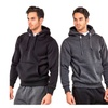Heavy Duty Fleece Hooded Sweatshirt