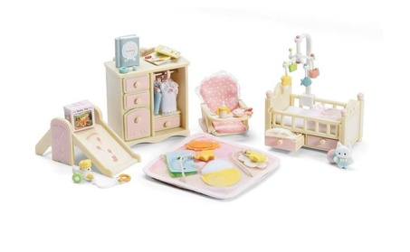 Calico Critters Baby's Nursery Set 10caed46-9111-4742-a79f-feb9d9d56851