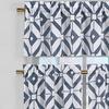 Mckenna Faux Linen Kitchen Curtain