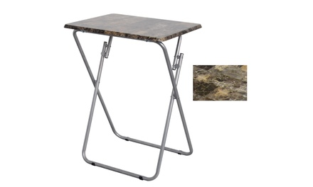 Folding TV and Snack Tray Table
