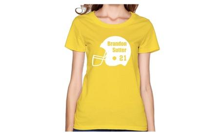 CYANY Hockey Player 21 Women's Cute T-shirt 8abf01d1-d856-4e51-a20a-1a22a9d9a126