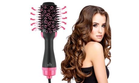 Hot Air Brush Hair Dryer And Volumizer Hair Brush Dryer Blow Spin Brush