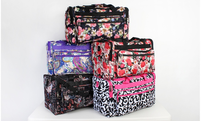 aa9679737009 Up To 47% Off on Cute Print Duffel Bags
