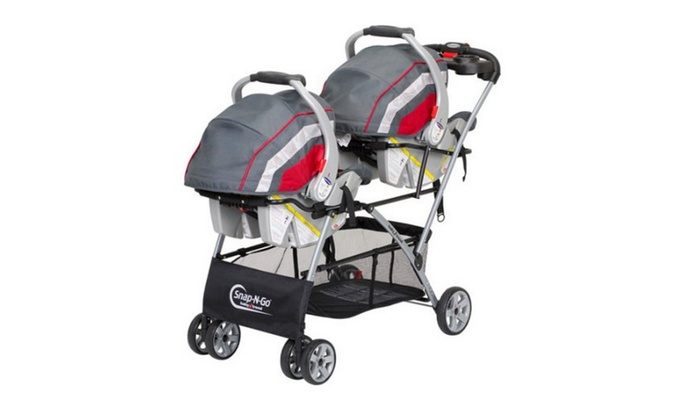 Baby Trend Snap N Go Double Universal Double Stroller Groupon