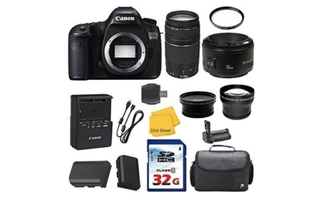 Canon EOS 5DS Digital SLR Bundle + Canon 50mm f/1.8 II Lens 89ee82bb-a909-4340-bf6a-adf3795d8766