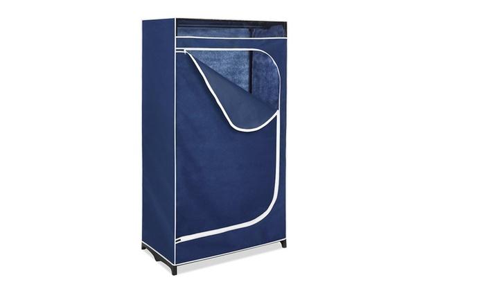 Whitmor Clothes Closet 36u201d With Blue Cover