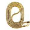 Rope Chain Necklace Hip-Hop Fashion Style Long Chain Multicolor