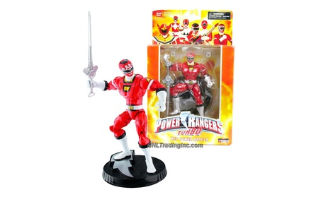 Power Rangers Deluxe Collector Figure Turbo Red Ranger 0735e04e-177a-4577-9569-731d9a39cfde