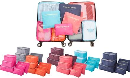 Waterproof Lightweight Travel Organizer Packing Bags Storage Cubes (6-Piece)