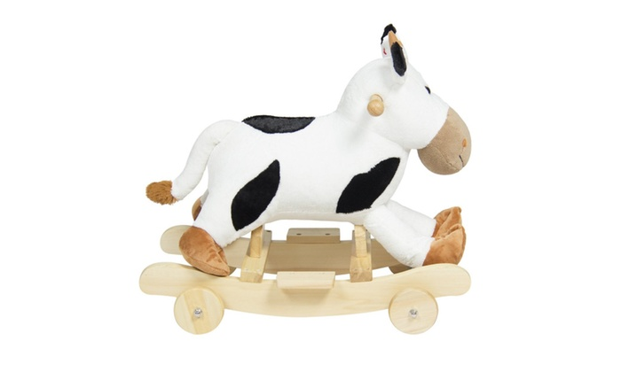 Black Cow Rides White