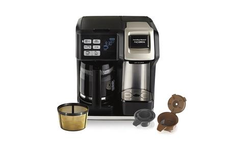 Hamilton Beach (49950C) Coffee Maker, Single Serve & Full Coffee Pot 0660a2e9-3594-4522-8408-a7c8f831cfed