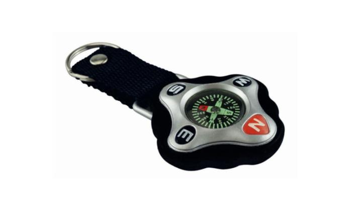 Key Chain sling Mini Camping Compass Hiking Hiker Hunting Navigator