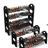 Sorbus Closet Organization Set (3-Piece) and Shoe Rack