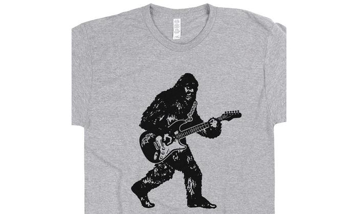 e67aa3664 Up To 59% Off on Bigfoot Guitar T Shirt Playin...   Groupon Goods