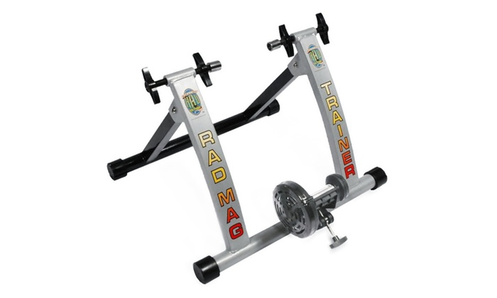 Rad indoor portable magnetic bicycle trainer cycle products