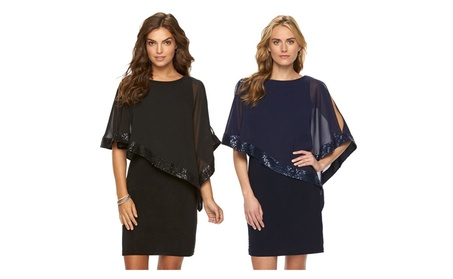 Womens Batwing Flutter Sleeve Stretch Bodycon Party Clubwear Dress 22cd4fce-2ade-49e7-9c9d-0211304147ca