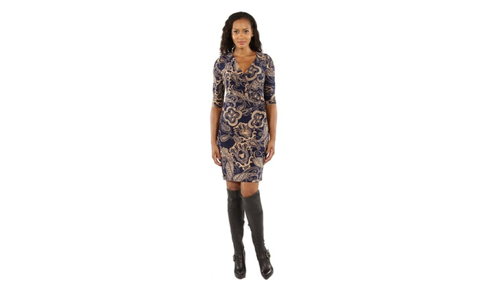 Dreamy Print Midi Dress
