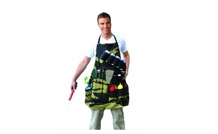 Grill Sergeant Camo Apron - Barbequing the Fun Way!