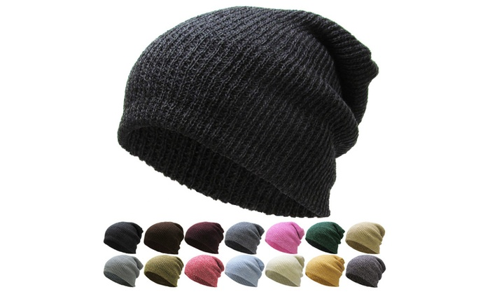 Slouchy Beanie Winter Ski Baggy Hat Unisex Various Styles KBETHOS ... 3840214b9bb