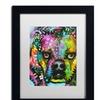 Dean Russo '23' Matted Black Framed Art