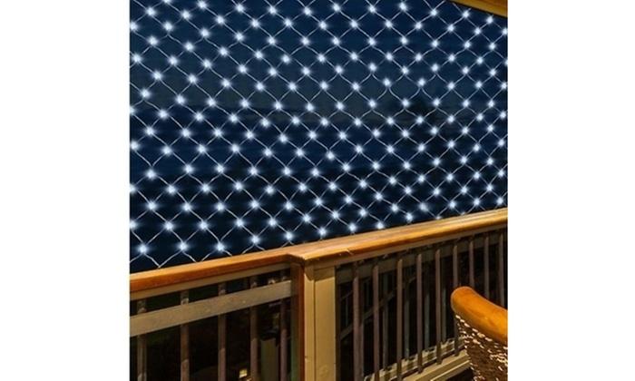 Led solar net lights party decor outdoor wedding decor groupon led solar net lights party decor outdoor wedding decor aloadofball Gallery