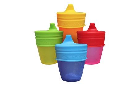 Sippy Cup Lids By MrLifeHack - (4 Pack) 6ef5f4e7-9ccd-4c42-928f-9a9f762e9433