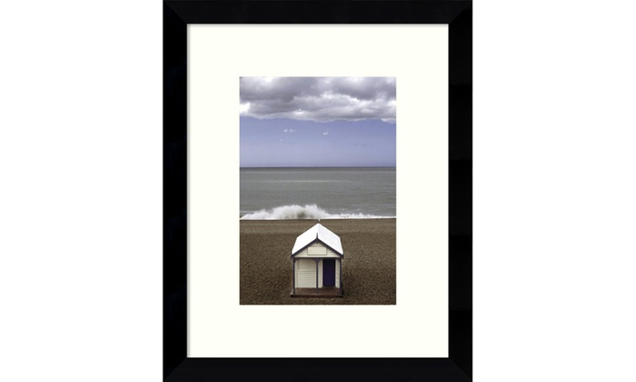 Framed Art Print The Seagull (Beach) by Gill Copeland:Outer Size ...