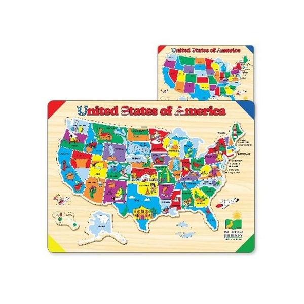 The Learning Journey 501726 Lift & Learn USA Map Puzzle